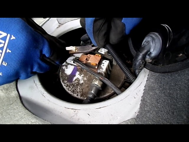 Chevrolet Aveo Fuel Pump Removal - YouTube