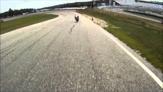 USCRA Formula CB350 Crash 2012