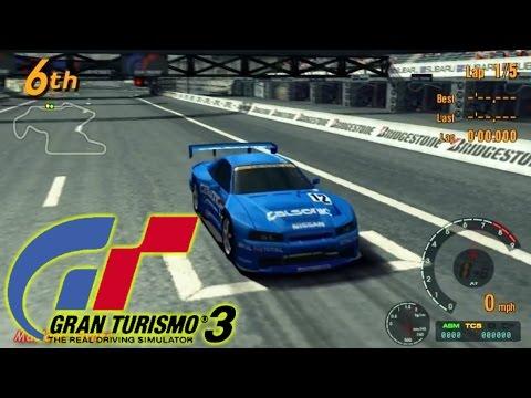 Vamos Recordar - Gran Turismo 3 - Game Play Emulator - Hard Single Race - 720p
