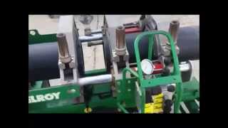 McElroy Rolling No.412 Fusion Machine - Equipment Demonstration
