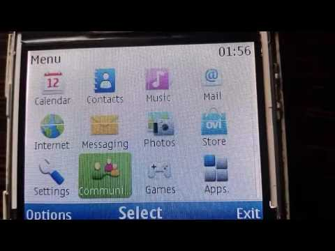 Connect WiFi in Nokia c3-00 and open internet
