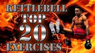 Top 20 Kettlebell Exercises | Top 20 Kettlebell Übungen | Farid Berlin
