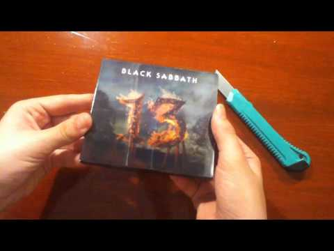 Black Sabbath 13 Limited Deluxe Edition (2 CD SET) Ελληνικό Unboxing