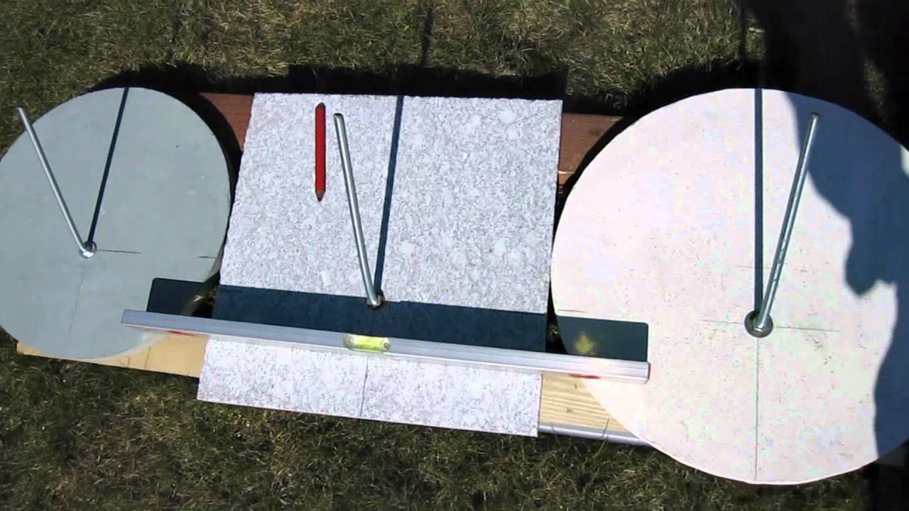 Sonnenuhr selber bauen mp4 youtube for Kuchenunterschranke selber bauen