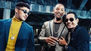 Making Of Marc Anthony Bad Bunny Will Smith S Esta Rico Audio