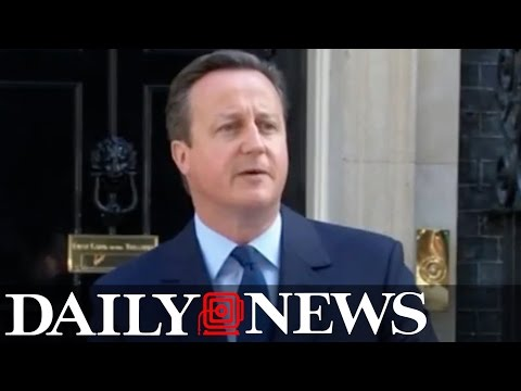 David Cameron resigns after 'Brexit' loss