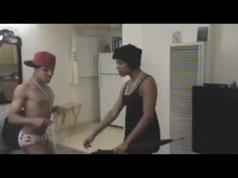 Rihanna & Chris brown fight (parody) Video