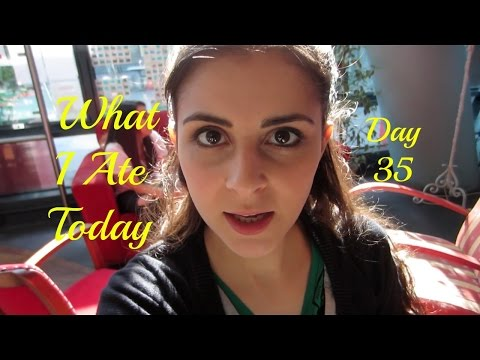 Vegan What I Ate: Simple - Sunbathing With Hot Doggies! - Day 35 - THE BIG CLEANSE