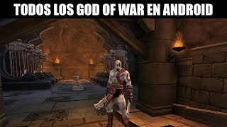 Todos los God of War existentes para Android 2017 + Links