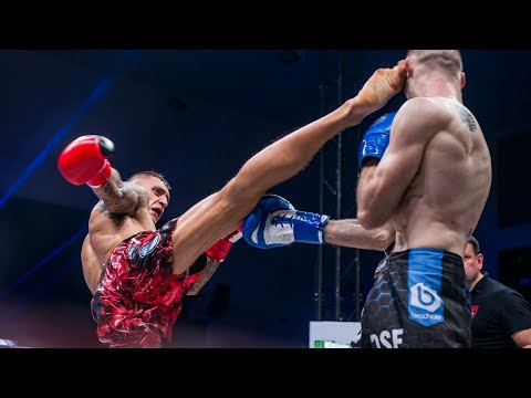 Full fight: Damian PAJĄK vs Serhii KRAVCHENKO | DSF Kickboxing Challenge 21