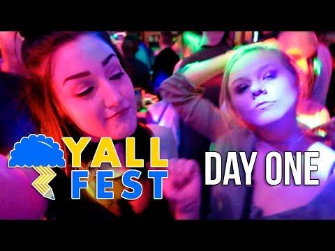 YALLFEST DAY 1 - we went clubbing??