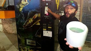 BUYING LIVE Fish FROM A VENDING MACHINE! (REAL)