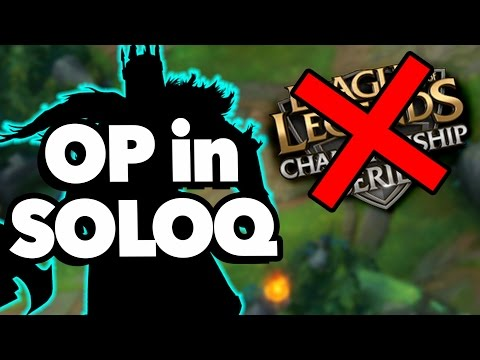 6 Champs That Are OP In SoloQ But SUCK In LCS - League Of Legends