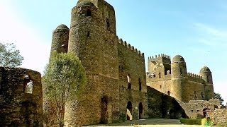 The Palaces and Castles of Gondar, Ethiopia in HD