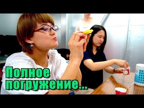 Японки в восторге от русских блинов. Реальная жизнь студентов в Киото Минсай