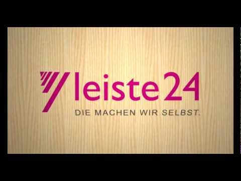 sockelleisten von leiste24 youtube. Black Bedroom Furniture Sets. Home Design Ideas