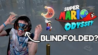 I Tried To Beat Super Mario Odyssey Blindfolded...