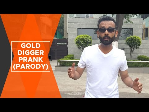 BYN : Gold Digger Prank (GONE RIGHT) - INDIA