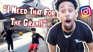 """I NEED THAT FOR THE GRAM"" Slippery Basketball Challenge!! 