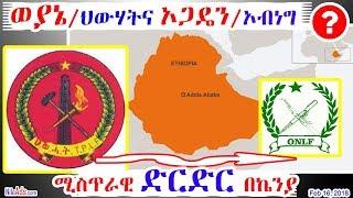 Ethiopia: ወያኔ/ህውሃትና ኦጋዴን/ኦብነግ ሚስጥራዊ ድርድር በኬንያ TPLF & ONLF Kenya Secret Meeting - DW