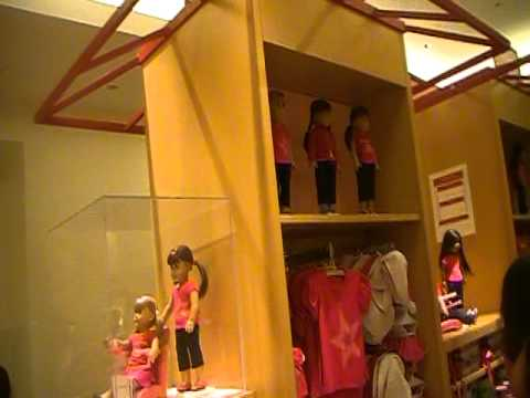 Tour Of The American Girl Doll Store Chicago!!!