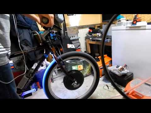 hybrid ebike with genarac ix800 part1*110v to 60v inverter*