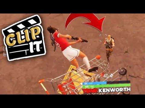 360 FLIP SHOPPING CART TRICKSHOT | CLIP IT #5 | TBNRKENWORTH | tbnrkenworth