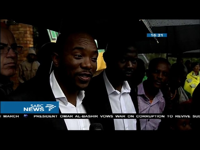 Mmusi Maimane pays tribute to Mama Winnie