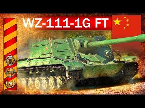WZ-111-1G FT - mistrzostwo świata rzadkim chińczykiem! - World of Tanks