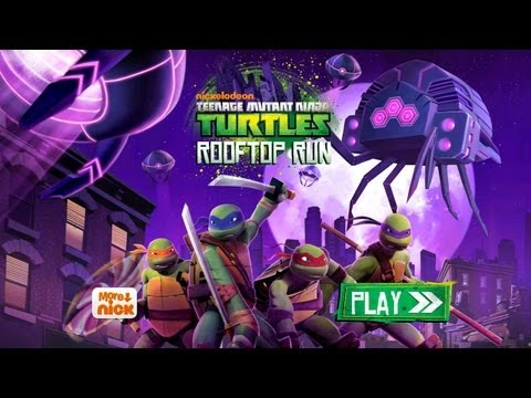 Teenage Mutant Ninja Turtles: Rooftop Run - iPhone/iPod Touch/iPad - Gameplay HD