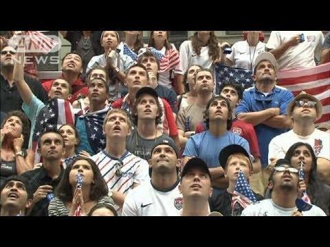 日本に初の敗戦 米国民はショックで沈黙・・・(11/07/18)
