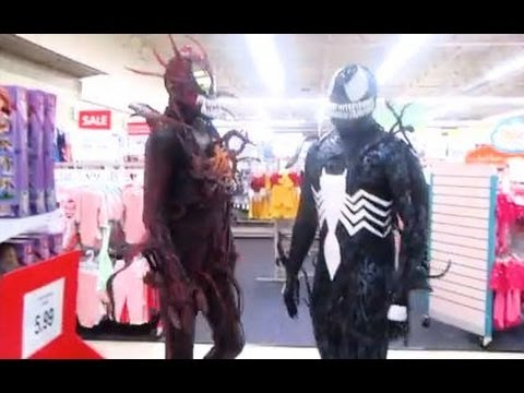VENOM AND CARNAGE GO INTO PUBLIC!