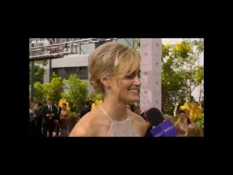 Laura Prepon and Taylor Schilling Emmy red carpet interviews