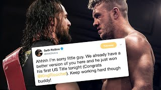 Seth Rollins & Will Ospreay Involved In Heated Twitter Feud & More
