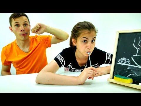 Смешное видео - Челлендж Крокодил - Игры для детей