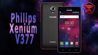Philips Xenium V377. Подробный обзор / от Арстайл /