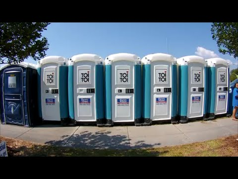 Porta Potty Review 2013 Seafood Festival - Morehead City, North Carolina - September 8, 2013
