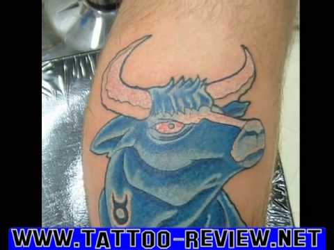 Tags:Taurus Zodiac Tattoo Designs images gallery meanings review