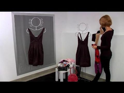 Cómo reciclar un vestido usado - YouTube