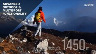 Suunto Ambit 3 Peak watch movie