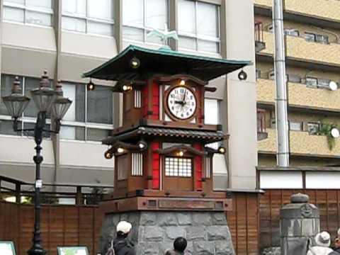 道後温泉駅前・放生園/からくり時計