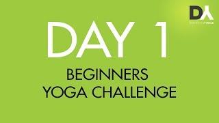 Йога челлендж для начинающих -  День 1