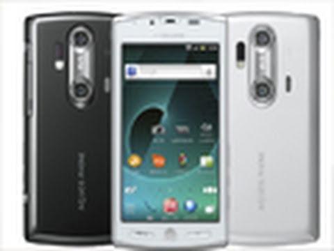 Sharp Aquos SH-12C 3D Phone! Japan's HTC EVO 3D / LG Optimus 3D! 8MP 720P, Gingerbread, 1.4GHz!