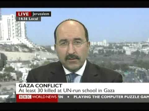 Is there a Humanitarian Crisis in Gaza? Dore Gold on BBC World