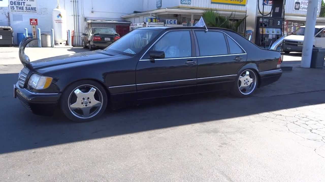 Bull Shipper Mercedes Benz W140 S500 Amg Stacks Pipes