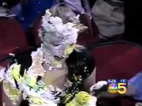 Images Cake In Face : clutch throws a cake in a woman s face! - YouTube