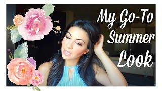 Моят Go-To Летен Грим ♡ Go To Summer Look + SheInside Review | Юли 2016