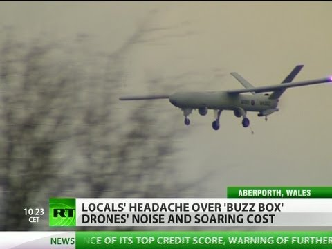 Buzz Box: Drone tests over West Wales enrage locals