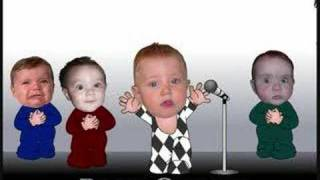 Funny Singing Baby 3 Hilarious Babies Sing Queens Diper Song