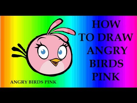 Angry Birds Stella Drawings Angry Birds Seasons How to